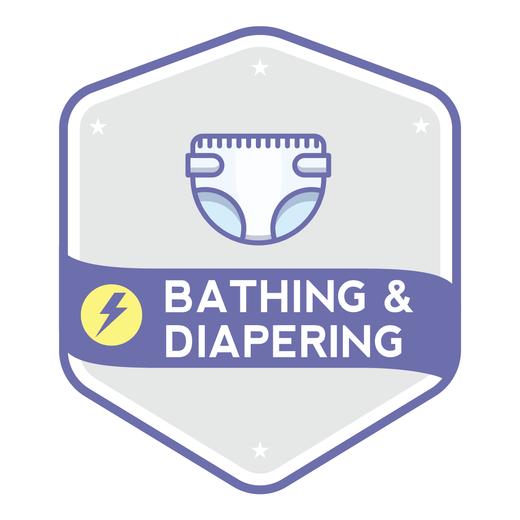 Bathing   diapering 4x 7