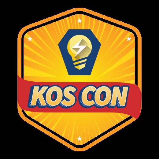 Koscon digital badge logo